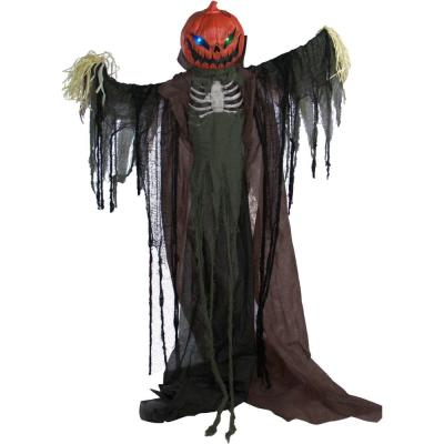 80 in. Touch Activated Animatronic Scarecrow