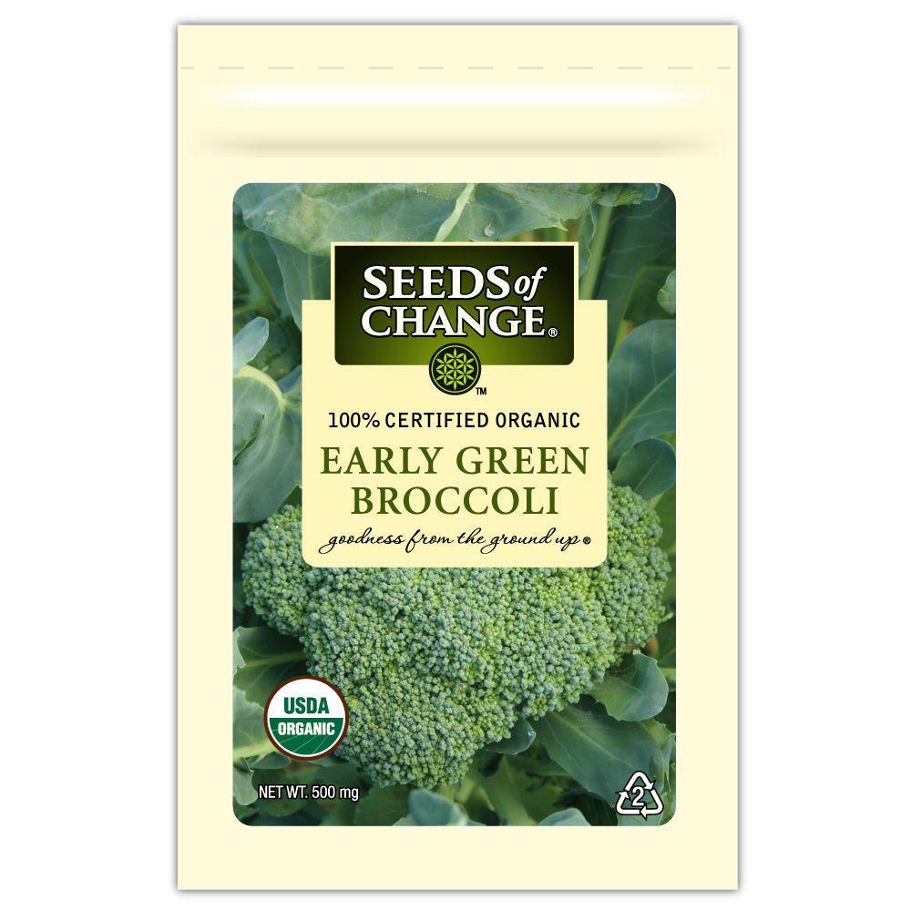 Seeds of Change Early Green Broccoli Seed