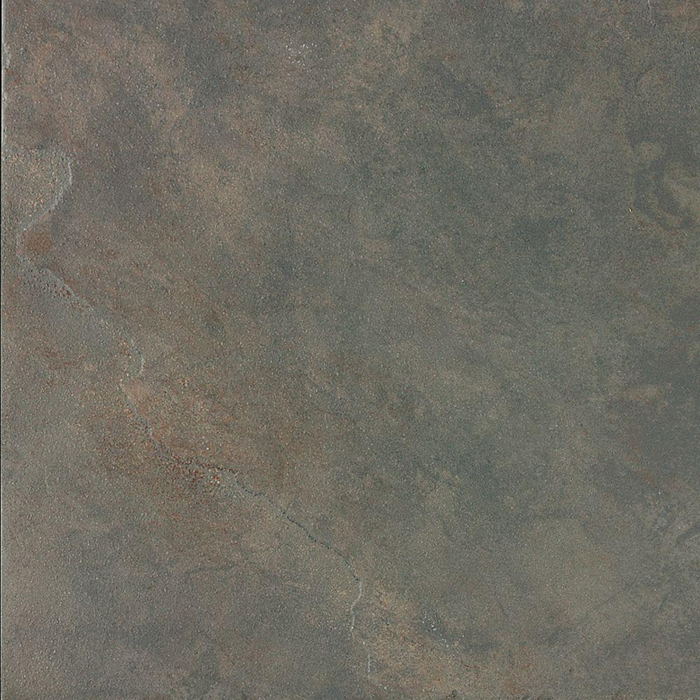Daltile 6x6 porcelain tile tile the home depot continental slate brazilian green 6 in x 6 in porcelain floor and wall tile doublecrazyfo Images
