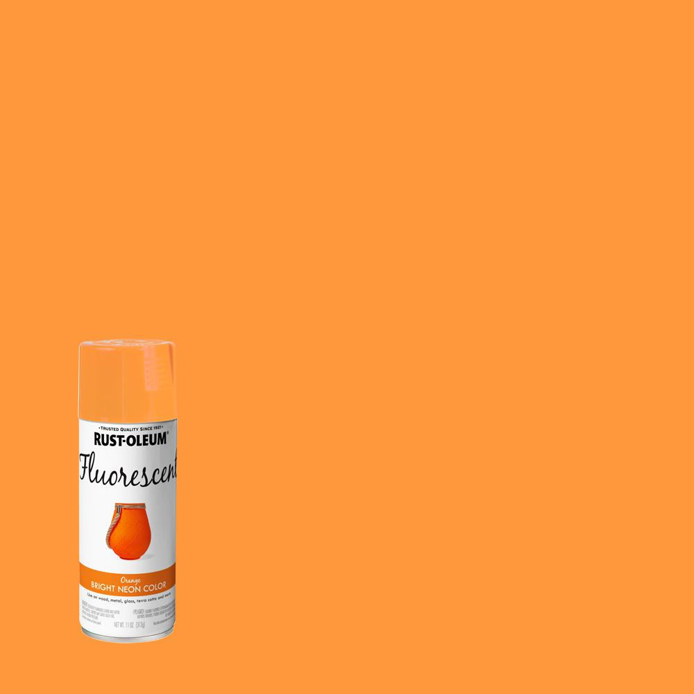 11 oz. Fluorescent Orange Spray Paint