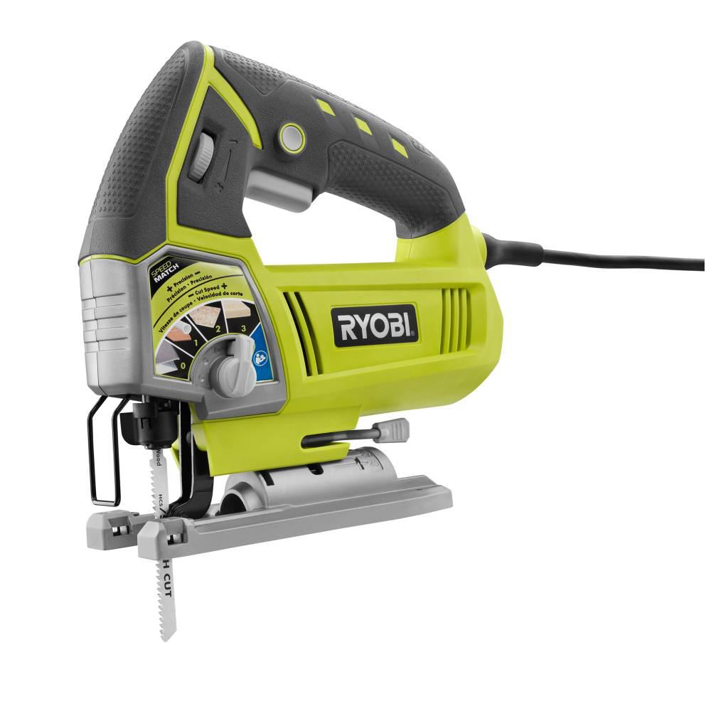 RYOBI 4.8 Amp Corded Variable Speed Orbital Jig Saw