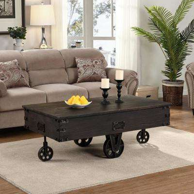Broadmore Factory Cart Coffee Table