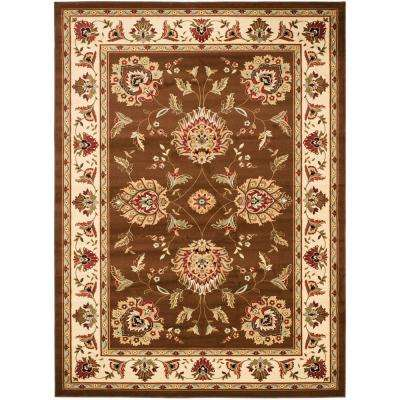 Lyndhurst Brown/Ivory 7 ft. x 10 ft. Area Rug