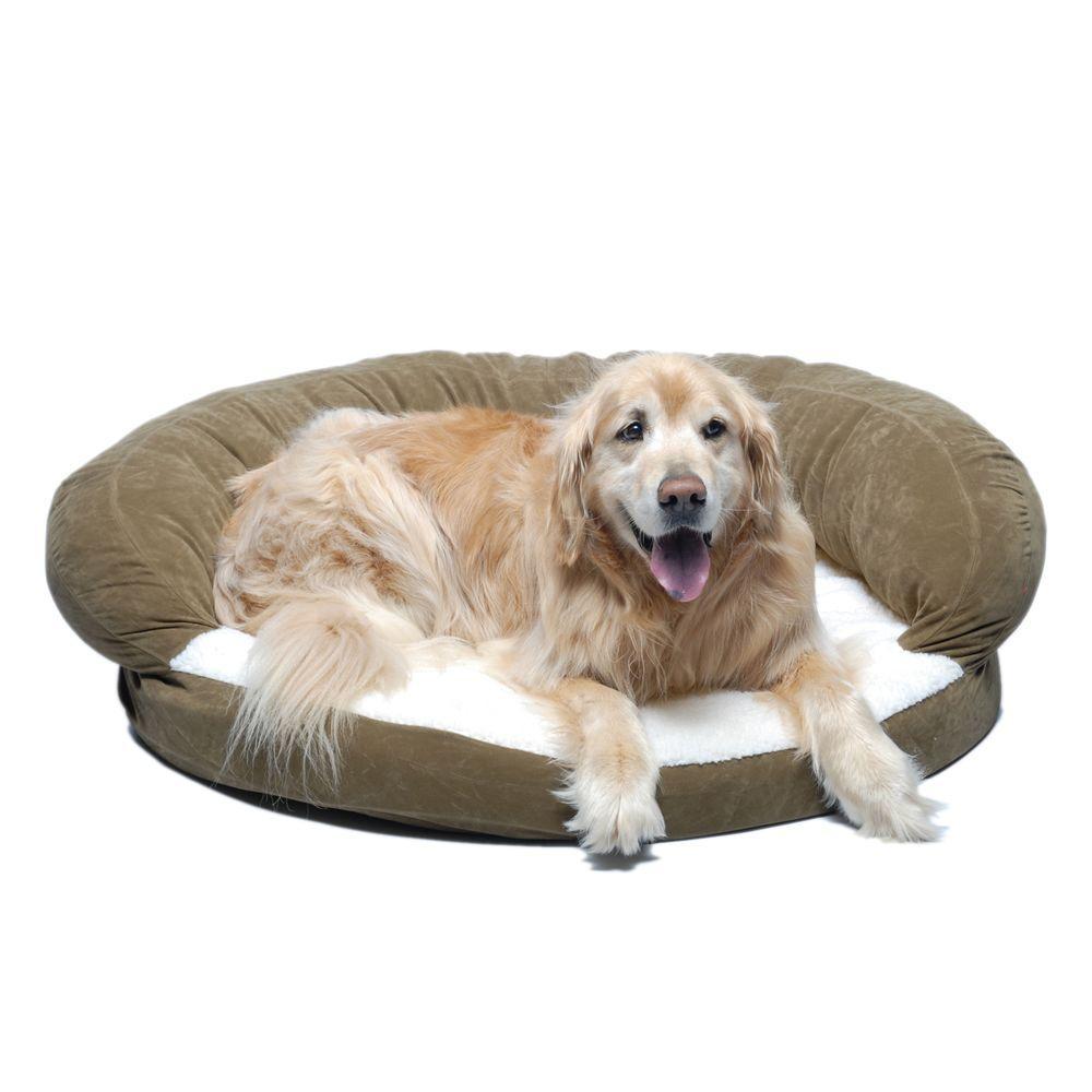 Large Sage Ortho Sleeper Bolster Bed