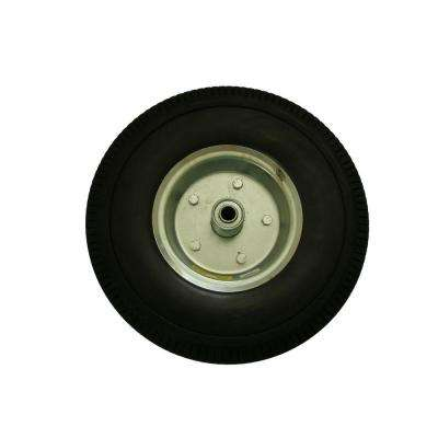 12 in. Flat Free Replacement Wheel