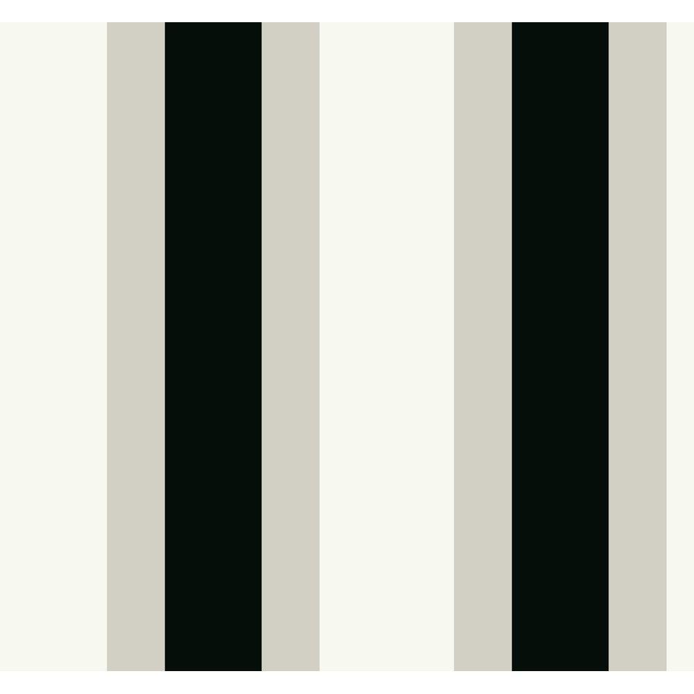 York Wallcoverings 60.75 sq. ft. Triple Treat Stripe Wallpaper