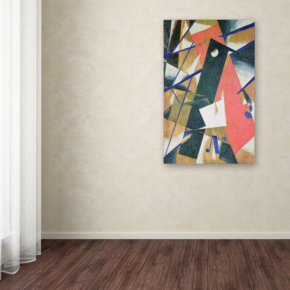 Trademark 47 in. x 30 in. Abstract II Canvas Art