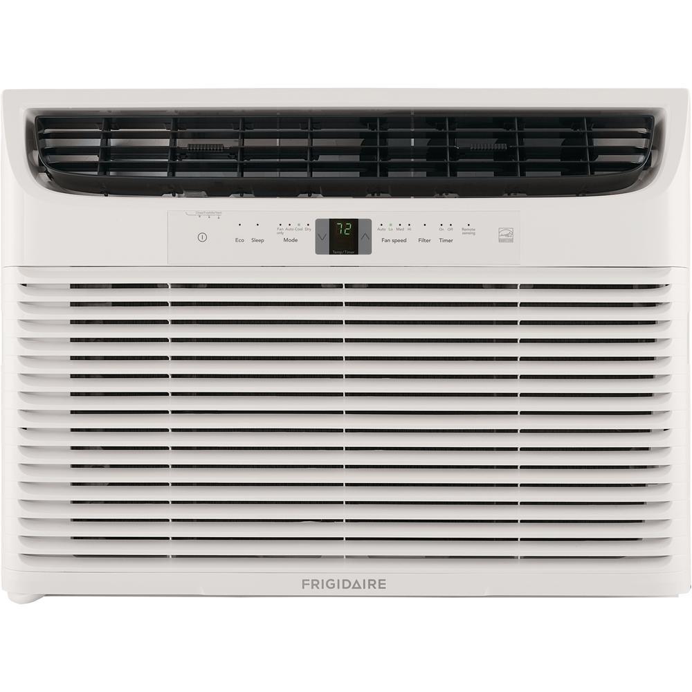 18,000 BTU 230-Volt Window-Mounted Median Air Conditioner with Temperature Sensing Remote Control