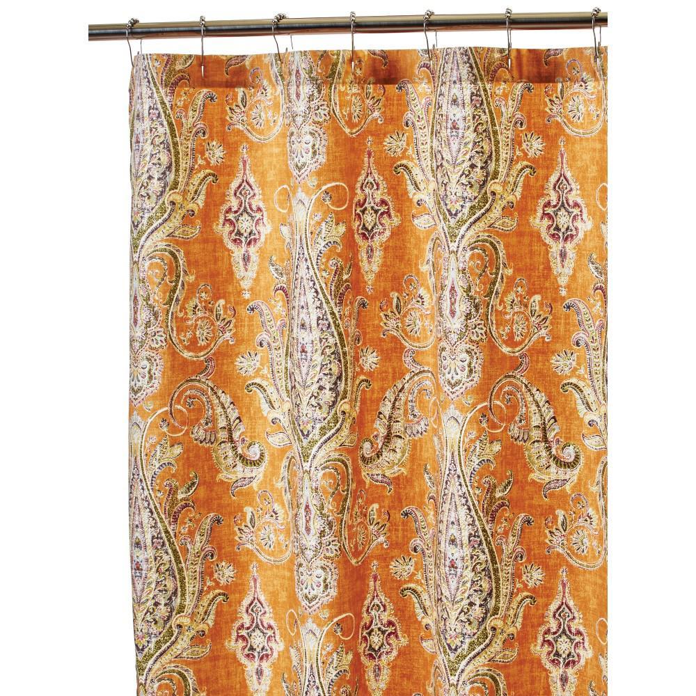 Home Decorators Collection Karani 72 inch Shower Curtain in Cognac by Home Decorators Collection