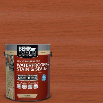 1 gal. #ST-136 Royal Hayden Semi-Transparent Waterproofing Exterior Wood Stain and Sealer