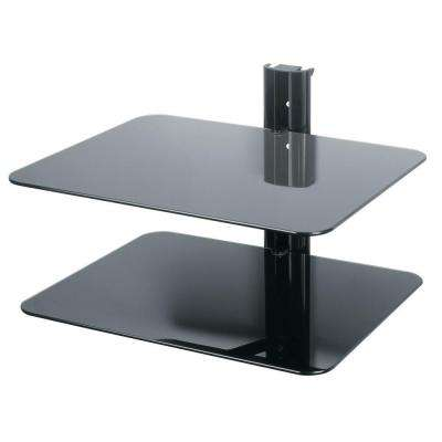 AV Component Accessory Shelving - Double Shelf