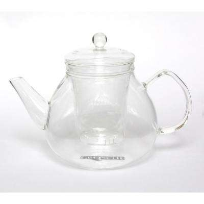 Glasgow 42 oz. Glass Teapot with Removable Glass Infuser