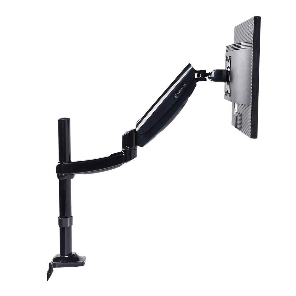 Height Adjustable Gas Spring Monitor Arm Heavy Duty Desk Mounts Stand