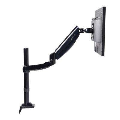 Height Adjustable Gas Spring Monitor Arm Heavy Duty Desk Mounts Stand for 10 in. - 27 in. LCD Screens