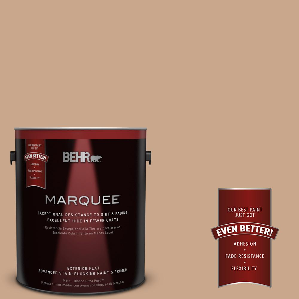 BEHR MARQUEE 1-gal. #UL130-8 Riviera Clay Flat Exterior Paint