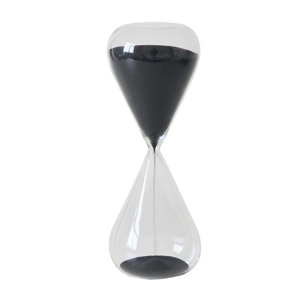Three Hands Black Gl 30 Minute Sand Timer