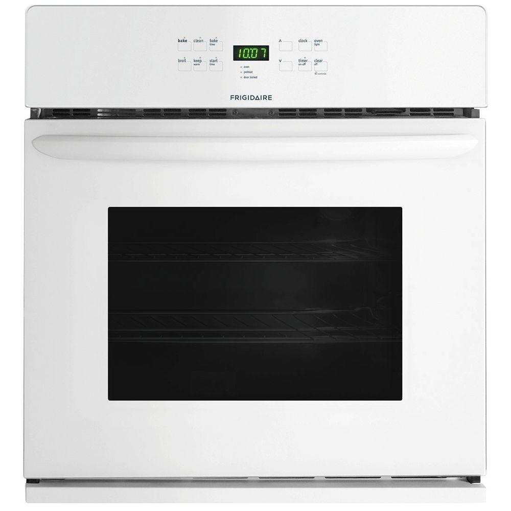 Frigidaire 30 in. Single Electric Wall Oven Self-Cleaning in White
