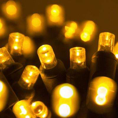 24 ft. 70-Light Gold 5 mm LED Mini Light Set
