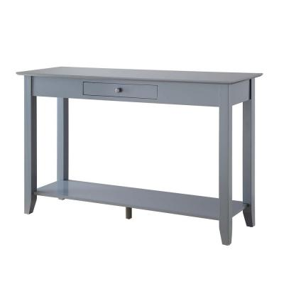 American Heritage Gray Console Table