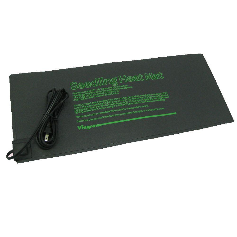 Viagrow 20.5 in. x 8.5 in. Seed Propagating Seedling Heat Mat