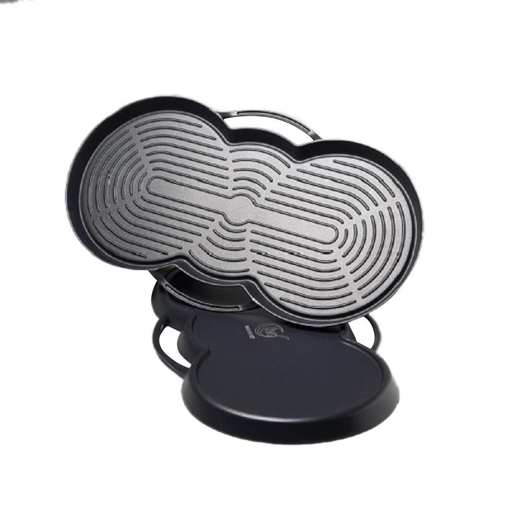 Sound Reversible Nonstick Pan
