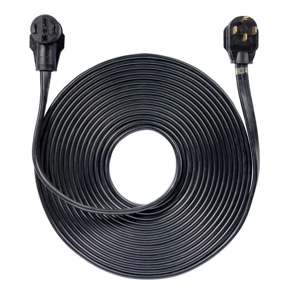 50 ft. 50 Amp 120-Volt/240-Volt 14-50P to 14-50R Generator Cord