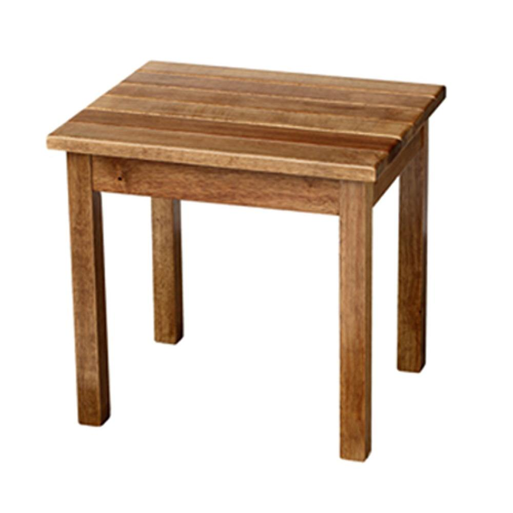 null Maple Patio Side Table