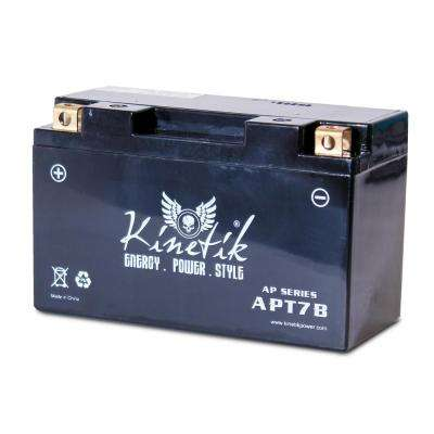 Sealed AGM 12-Volt 6.5 Ah Capacity F Terminal Battery