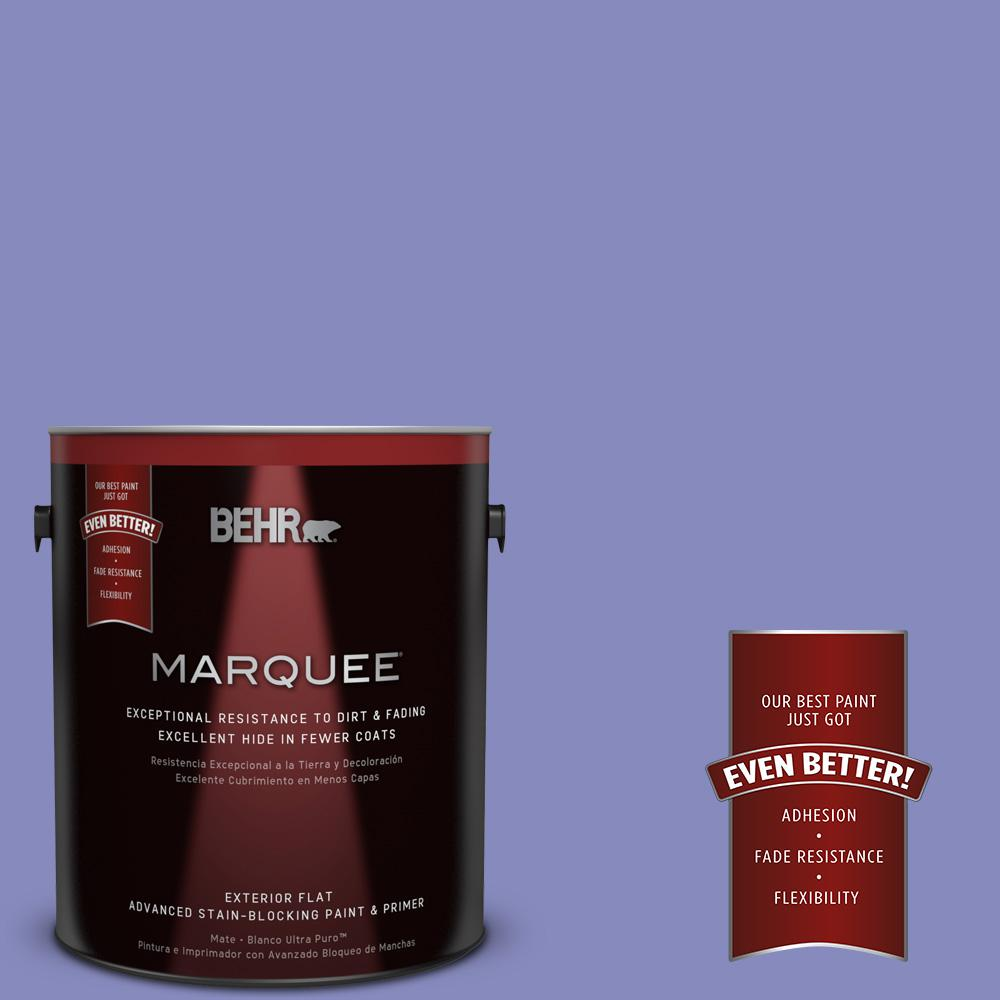 BEHR MARQUEE 1-gal. #620B-5 Pristine Petal Flat Exterior Paint
