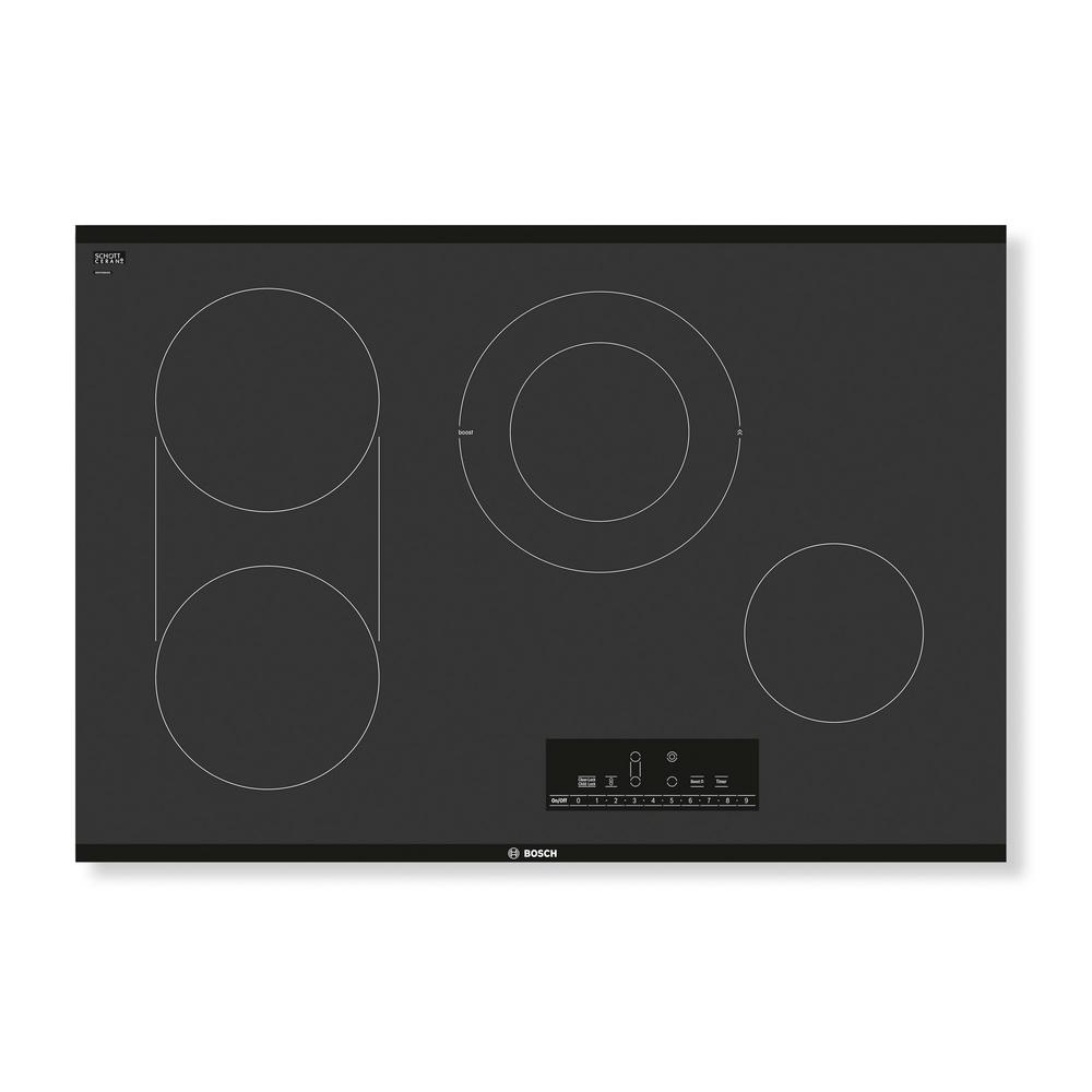 Ge 30 In Radiant Electric Cooktop Black With 4 Elements Cook Top And Light Fan Wiring Diagram