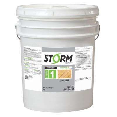 Category 1 5 gal. Clear Exterior Wood Waterproofer