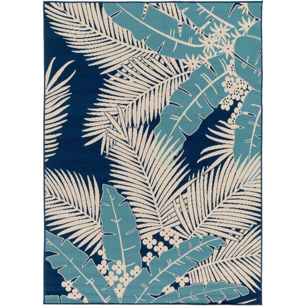 Artistic Weavers Burrageara Slate 8 ft. x 10 ft. Indoor/Outdoor Area Rug