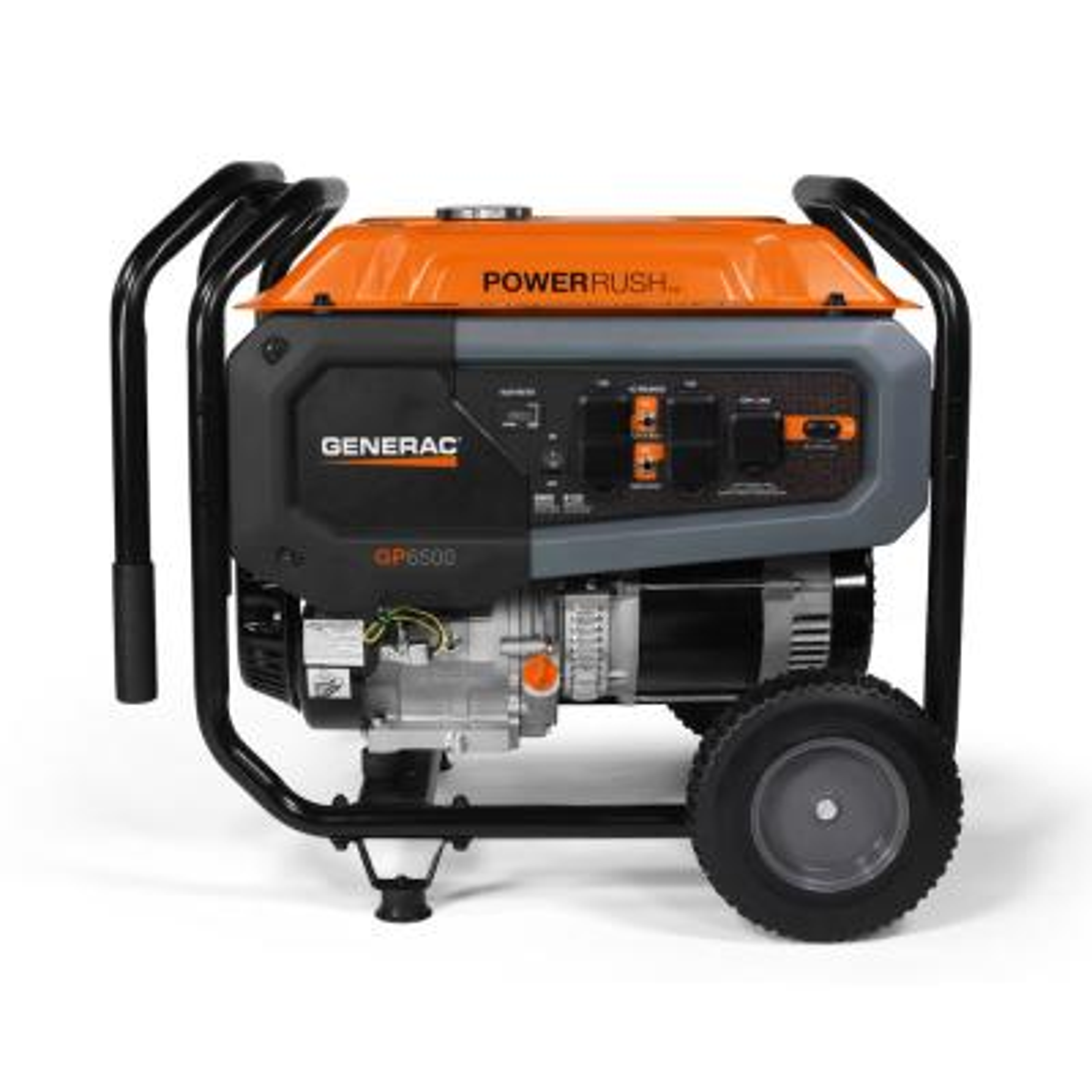 GP6500- 6500-Watt Gasoline Powered Portable Generator 49/CSA