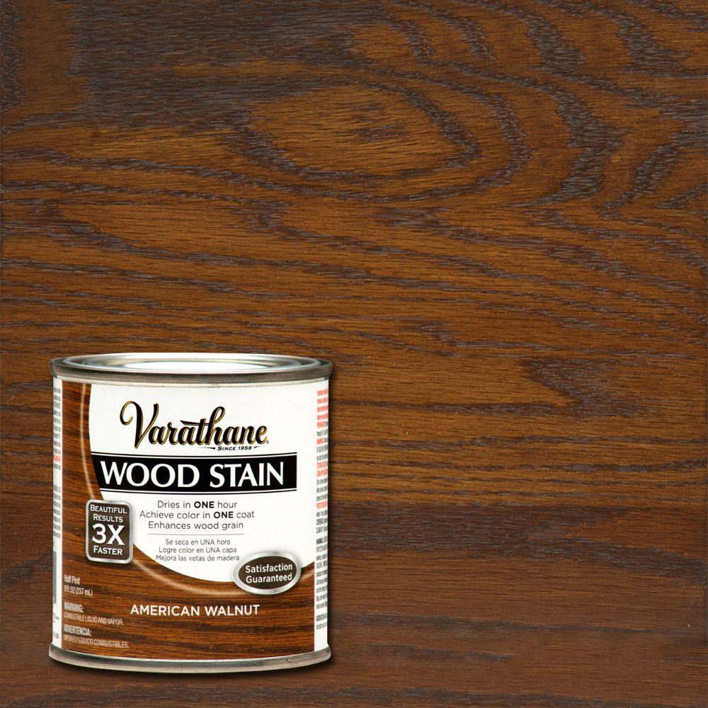 varathane 8 oz american walnut wood interior stain 266200