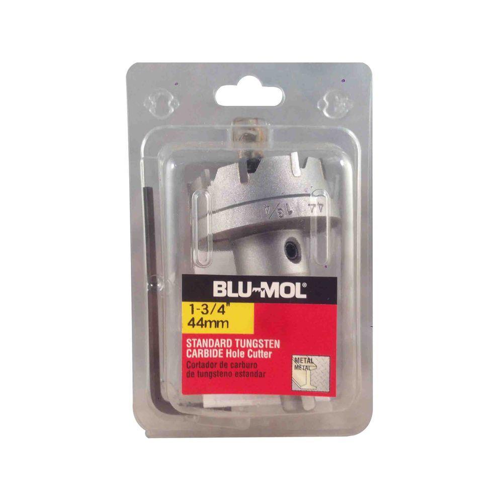 BLU-MOL 1-3/4 inch Standard Tungsten Carbide Hole Cutter by BLU-MOL