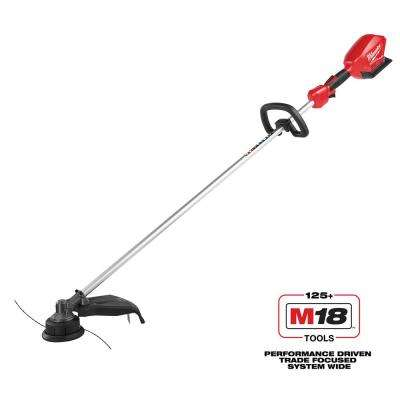 M18 FUEL 18-Volt Lithium-ion Brushless Cordless String Trimmer (Tool Only)