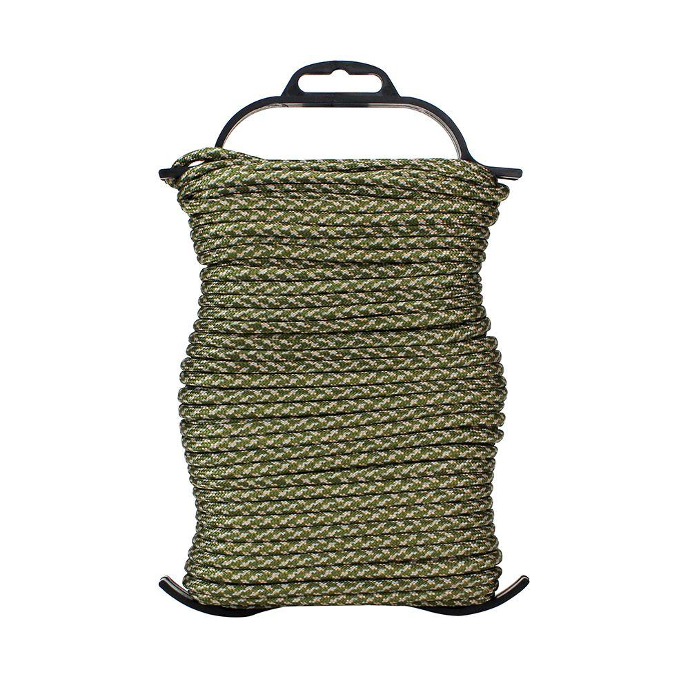 Everbilt 1/8 in. x 100 ft. Paracord Bug-Out Bundle, ACU Camouflage