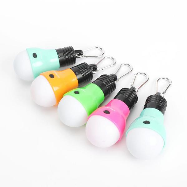 40 Lumens LED Bulb Light with Clip (5-Pack)