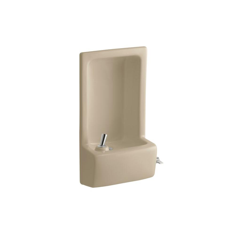KOHLER Glenbrook Lever Drinking Fountain Faucet in Mexican Sand-DISCONTINUED