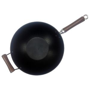 Click here to buy IMUSA Carbon Steel Nonstick 14 inch Wok with Wood Handle by IMUSA.