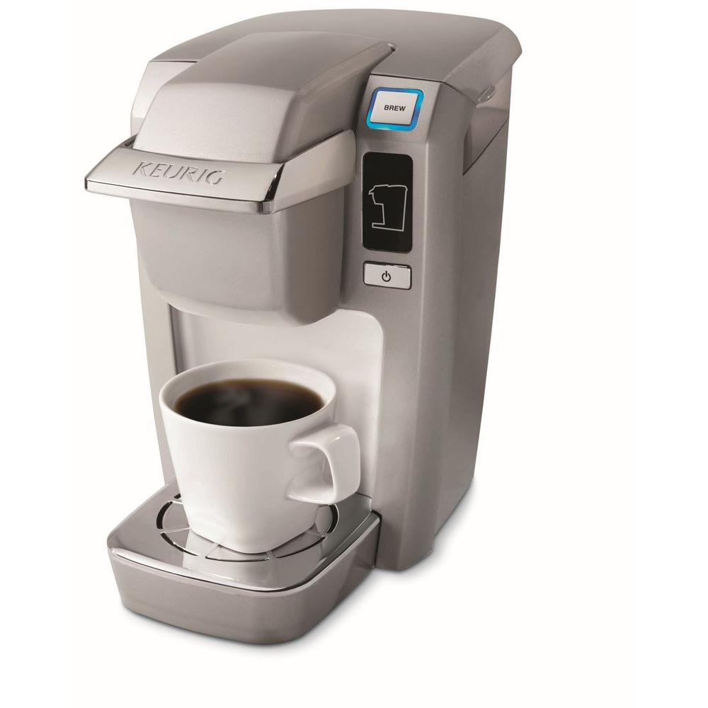 Keurig Mini Single-Cup Brewer in Platinum-DISCONTINUED
