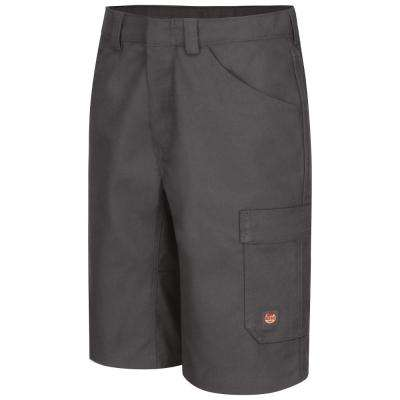 Men's Size 50 in. x 13 in. Charcoal Shop Short