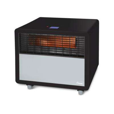 1,500-Watt Digital Infrared Heater, Black