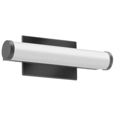 12 in. Black Integrated LED Vanity Light Bar with Selectable Color Temperature