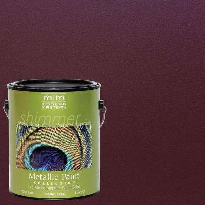 1 gal. Black Cherry Metallic Interior/Exterior Paint