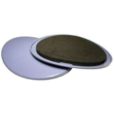 8-1/8 in. Gray and Black Base Glides (4-Pack)