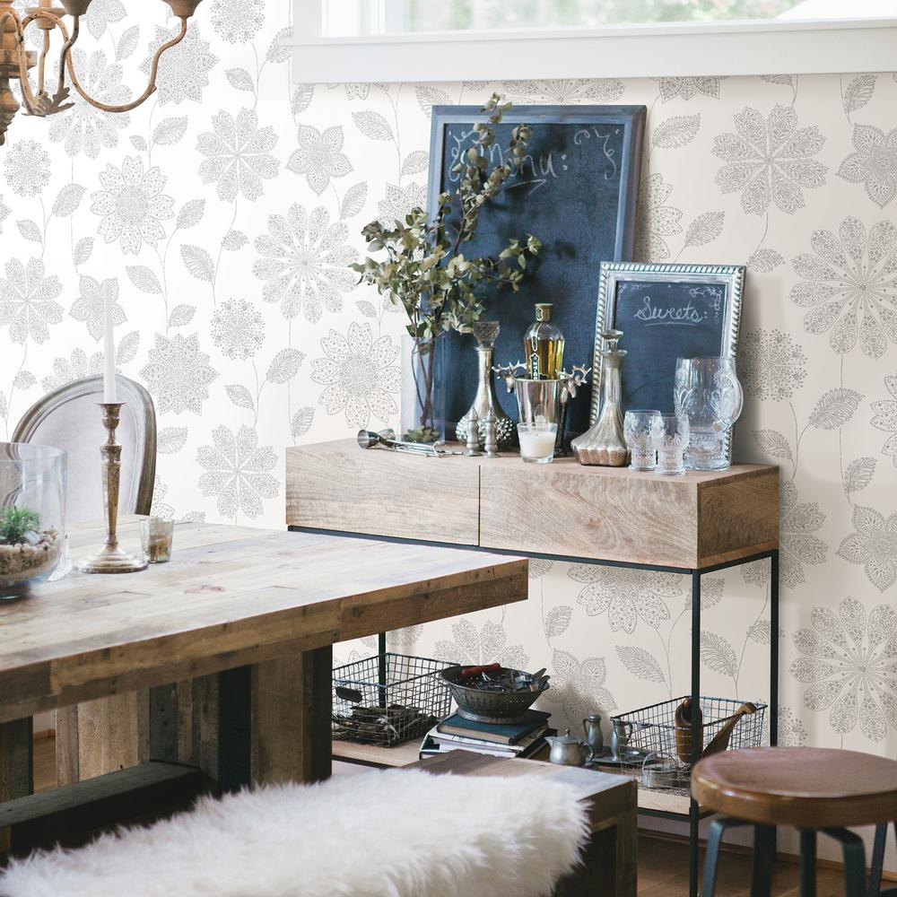 glass backsplashes for kitchens pictures a panache grey floral wallpaper 2716 23850 the 23850