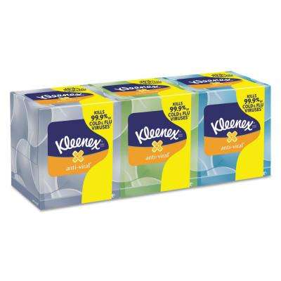 Boutique Anti-Viral Facial Tissue 3-Ply (68-Count)