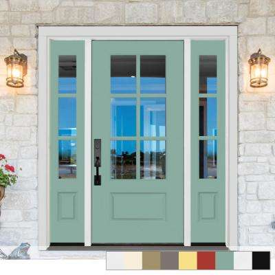 Legacy Collection Customizable Fiberglass Front Door