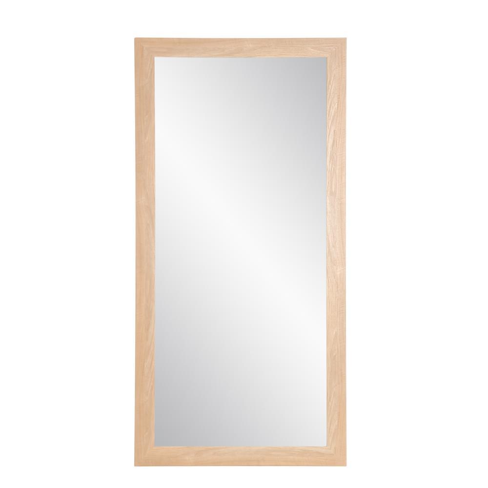 Oversized Maple Mirror (71 in. H X 32 in. W)